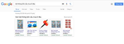 Bột thông bồn cầu giá bao nhiêu và mua ở đâu?