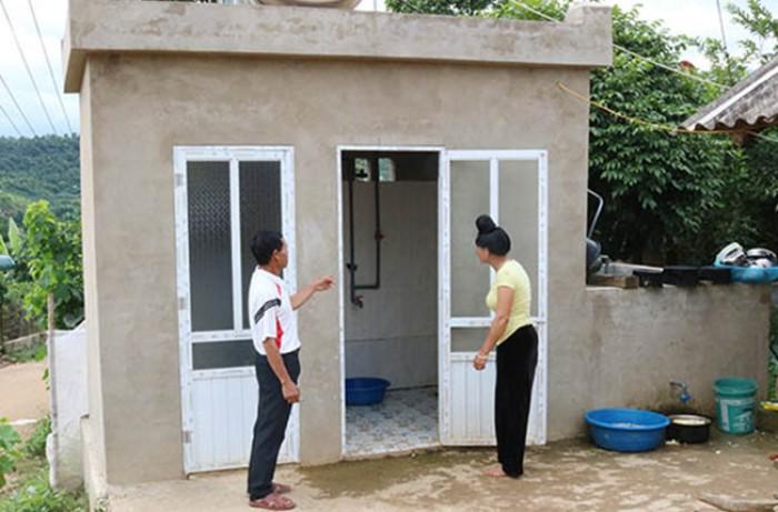 Mẫu nhà vệ sinh nông thôn 1