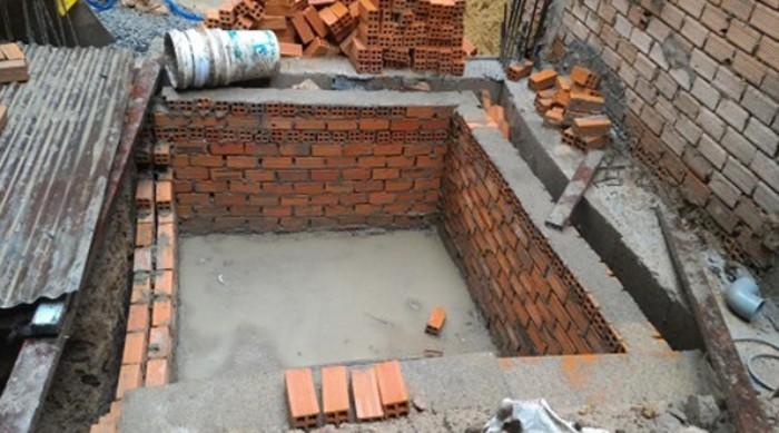 xây nhà vệ sinh đơn giản