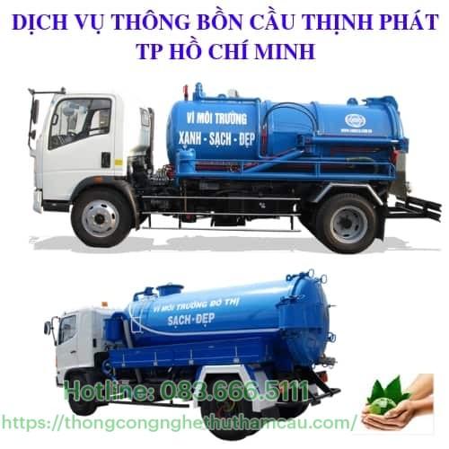 thong hut bon cau
