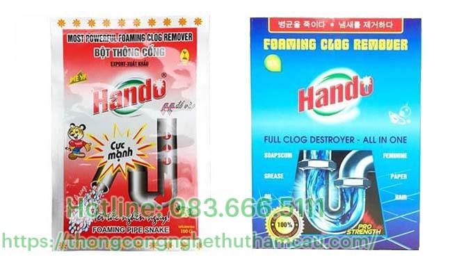 Bột thông cống Hando – Việt Nam