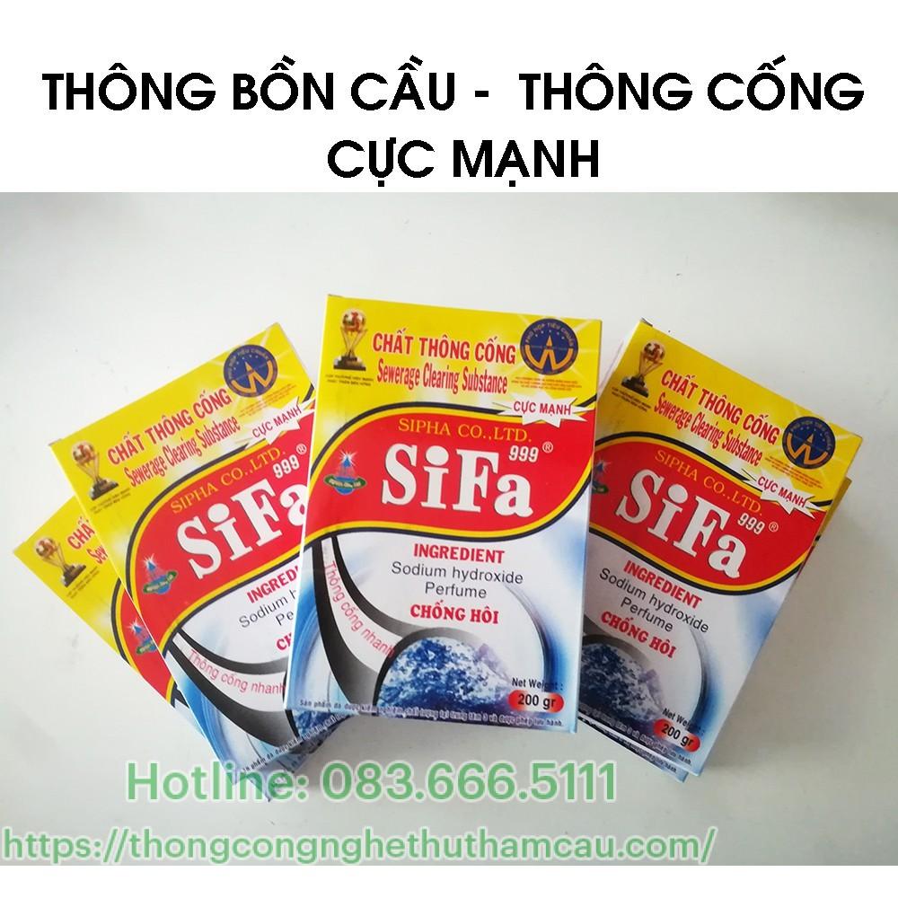 Bột thông cống Sifa – Việt Nam