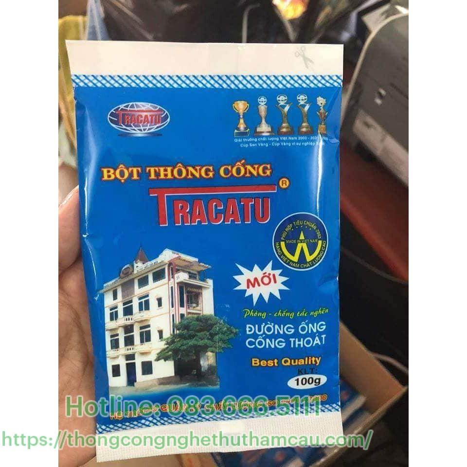 Bột thông cống Tracatu – Việt Nam