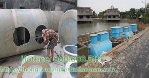 Hoạt động xây lắp bể Bastaf