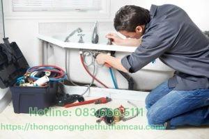 Lắp đặt đường ống thoát nước