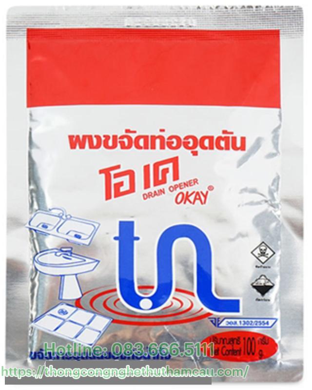 Bột thông tắc bồn rửa bát Thái Lan