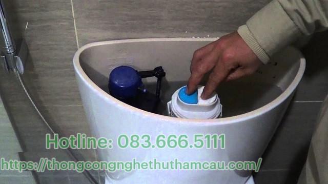 Cách xử lý bồn cầu xả nước yếu