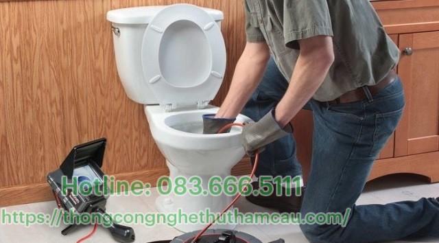 Dịch vụ thông tắc vệ sinh