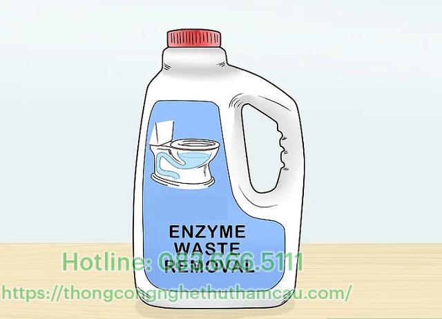 Thông tắc bằng sản phẩm Enzyme