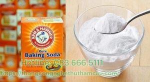 Sử dụng baking soda